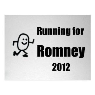 Running for Romney, 2012 Postcard