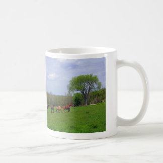 Running Free Basic White Mug