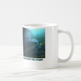 Running from the Storm Coffee Mug with Paintograph