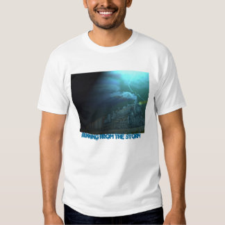 Running from the Storm T-Shirt Paintography