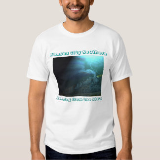 Running from the Storm with KCS lettering on back Shirt