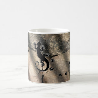 Running Gecko Coffee Mug
