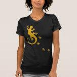 Running Gecko gold Hemd