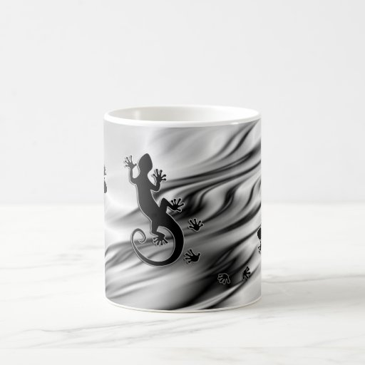 Running Gecko Mug