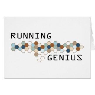 Running Genius Greeting Cards