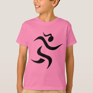 running Girl Gear T-Shirt