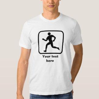 Running Guy Logo -- Customizable Tshirt