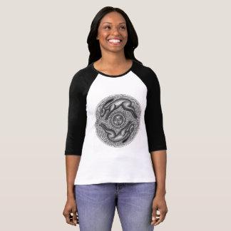 Running Hares Circle T-Shirt
