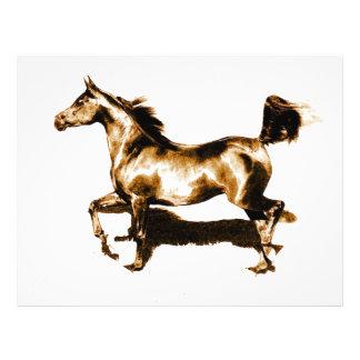 Running Horse 21.5 Cm X 28 Cm Flyer