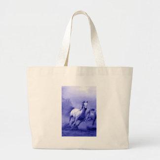 Running Horse Jumbo Tote Bag