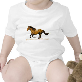 Running Horse Rompers