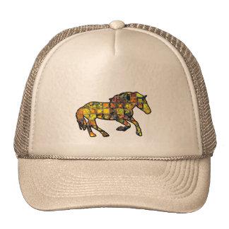 RUNNING HORSE SQUARED CAP