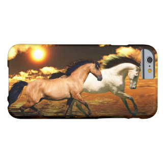 Running horses barely there iPhone 6 case