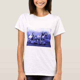 Running Horses & Blue Moonlight T-Shirt