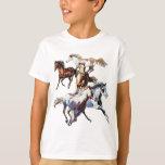 Running Horses Shirts