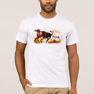Running Horses T-Shirt