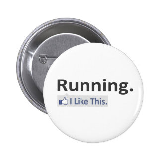 Running...I Like This 6 Cm Round Badge