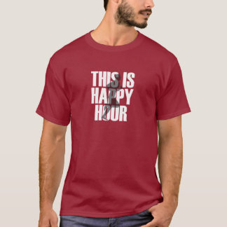 Running Is Happy Hour T-Shirt