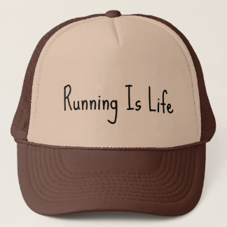 Running is Life Trucker Hat