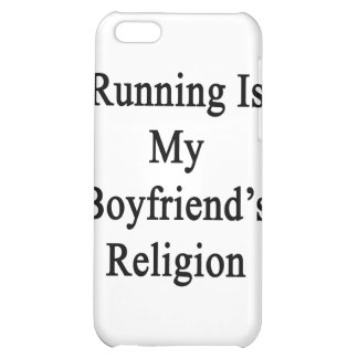 Running Is My Boyfriend's Religion iPhone 5C Covers