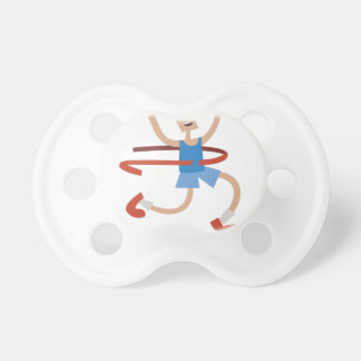 Running My Race Baby Pacifiers