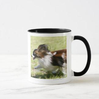 Running Papillon Mug
