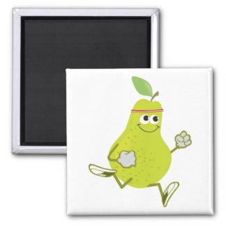 Running Pear Magnet