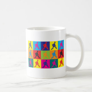Running Pop Art Coffee Mug