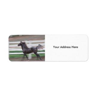 Running Proud Label Return Address Label