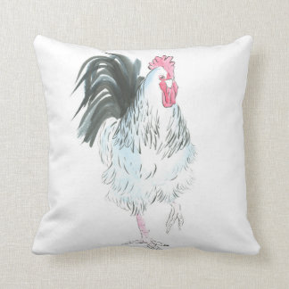 Running rooster cushion