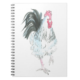 Running rooster notebook