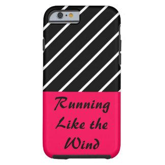 Running Rose Pink Gym Sports Workout CricketDiane Tough iPhone 6 Case