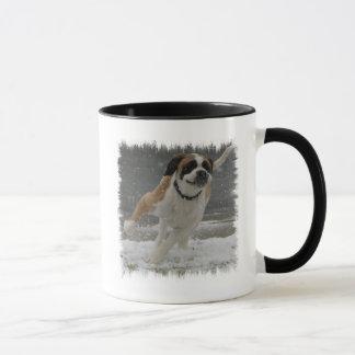 Running Saint Bernard Mug