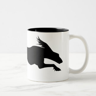Running Saluki Dog Mug