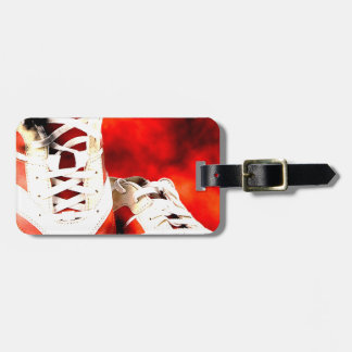 Running Shoes Runner Athlete Grunge Style Luggage Tag