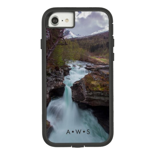 Running Stream Scenery Personalised Initials Case-Mate Tough Extreme iPhone 8/7 Case