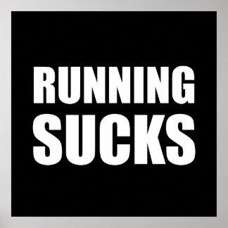 Running Sucks Poster