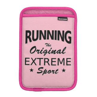 RUNNING, the original extreme sport. (blk) iPad Mini Sleeve