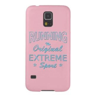 RUNNING, the original extreme sport (blue neon) Case For Galaxy S5