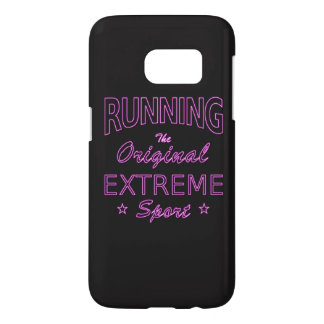 RUNNING, the original extreme sport (pink neon)