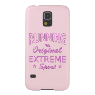 RUNNING, the original extreme sport (pink neon) Case For Galaxy S5