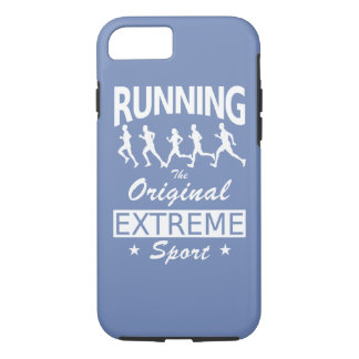 RUNNING, the original extreme sport (wht) iPhone 8/7 Case