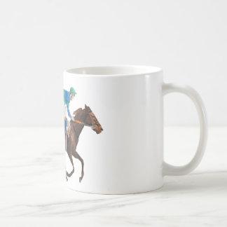 Running the Race Coffee Mug