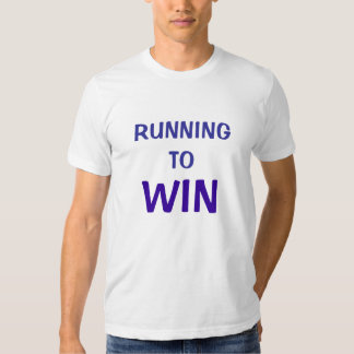 Running to Win - 1Co 9:24 Tshirts