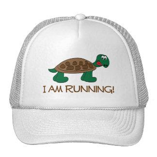 Running Tortoise Trucker Hat
