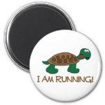 Running Tortoise Refrigerator Magnets