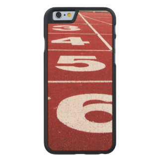Running Track Carved Maple iPhone 6 Case