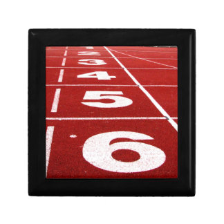 Running Track Small Square Gift Box