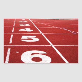 Running track stickers