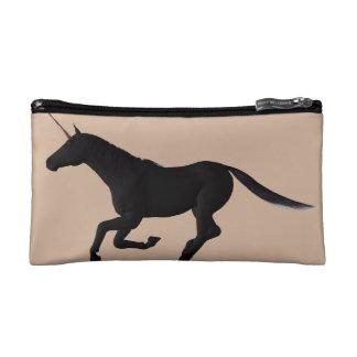Running Unicorn Customisable Silhouette Makeup Bag